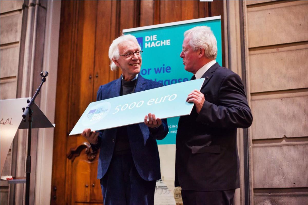 """""""Diaconie: vijf eeuwen armenzorg in Den Haag"""" wint Die Haghe Prijs 2018"""