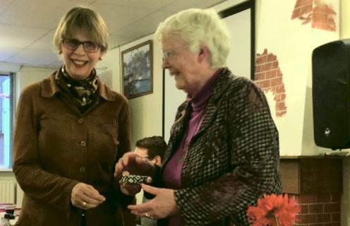 Betty Mol krijgt twee diaconale erepenningen